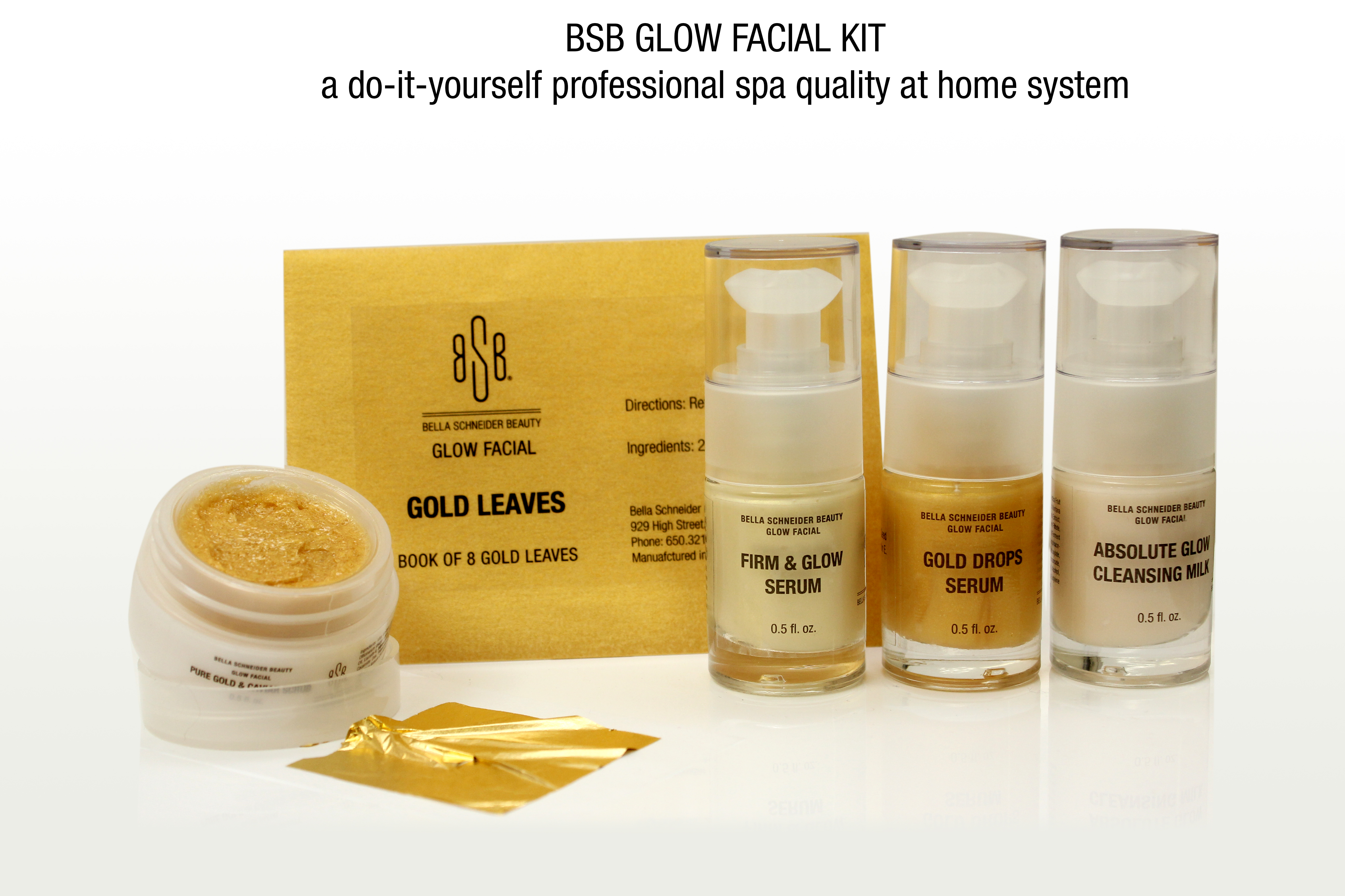 Bsb glow facial kit a do it yourself professional spa quality facial glow kit put your most gorgeous face forward with this diy solutioingenieria Gallery