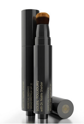 http://www.soleiltoujours.com/collections/face/products/perpetual-radiance-tinted-fluid-spf-20